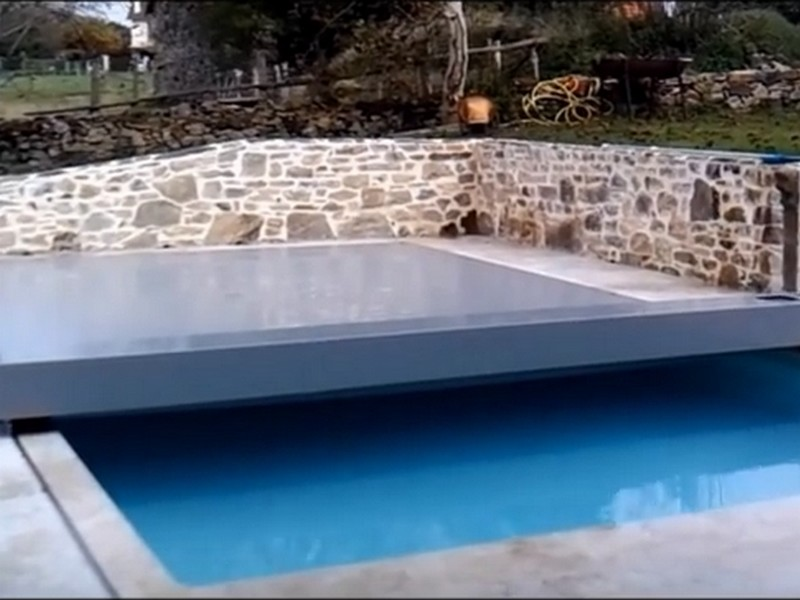 Quels dispositifs de s curit pour ma piscine - Couverture securite piscine ...