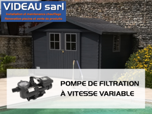 POMPE FILTRATION A VITESSE VARIABLE