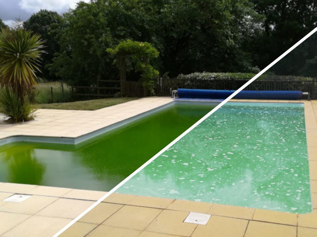 Depannage eau trouble piscine a fontenay le comte